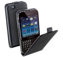 CellularLine Flap Essential pouzdro pro BlackBerry Q5, černá - FLAPESSENBBQ5BK