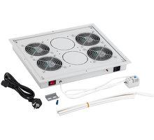 Triton ventilační jednotka RAC-CH-X04-X3, 4x ventilátor, 220V/60W, šedá