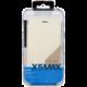 DooGee X5 MAX/X5 MAX PRO Flip Case + Screen Protector Glass, bílá