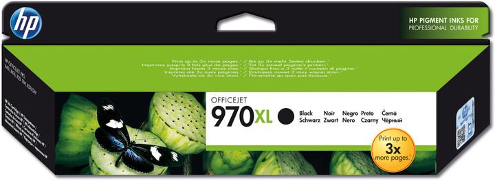 HP CN625AE, černá, č. 970XL – ušetřete až 50 % oproti standardní náplni