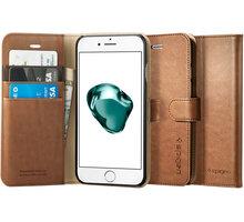 Spigen Wallet S pro iPhone 7+, brown - 043CS20544