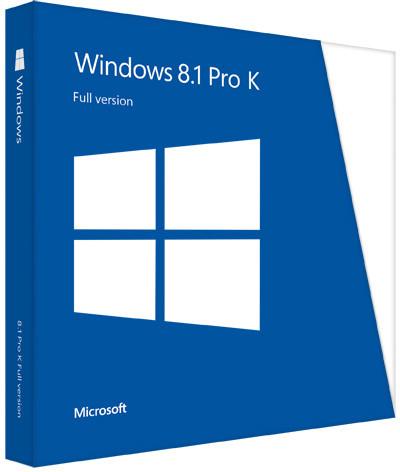 Microsoft Windows 8.1 Pro ENG 64bit OEM