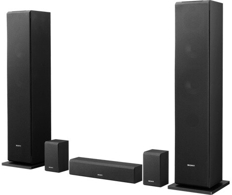 Sony SS-CS310CR, sada, černá