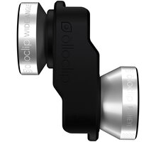 Olloclip 4in1 lens, silver/black - iPhone SE/5s/5 - OC-0000209-EU