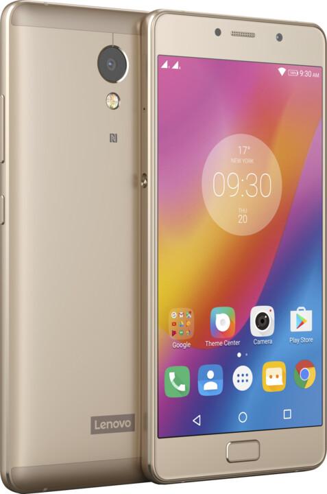 Lenovo P2, Dual Sim, LTE, zlatá