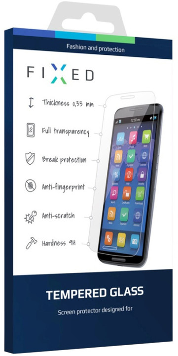 FIXED ochranné tvrzené sklo pro Sony Xperia XA, 0.33 mm
