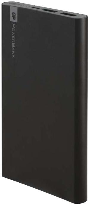 GP PowerBank FP10MB, záložní zdroj 10000 mAh, USB 2.1A + USB 1A, černá