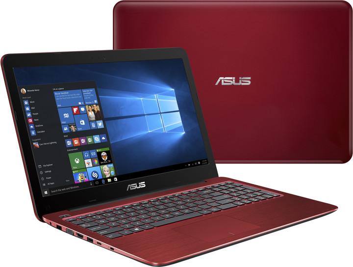 ASUS F556UF-DM065T, červená