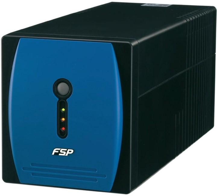 Fortron FSP EP 1000, 1000 VA, line interactive