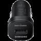 Samsung cestovní adaptér do auta USB, černá
