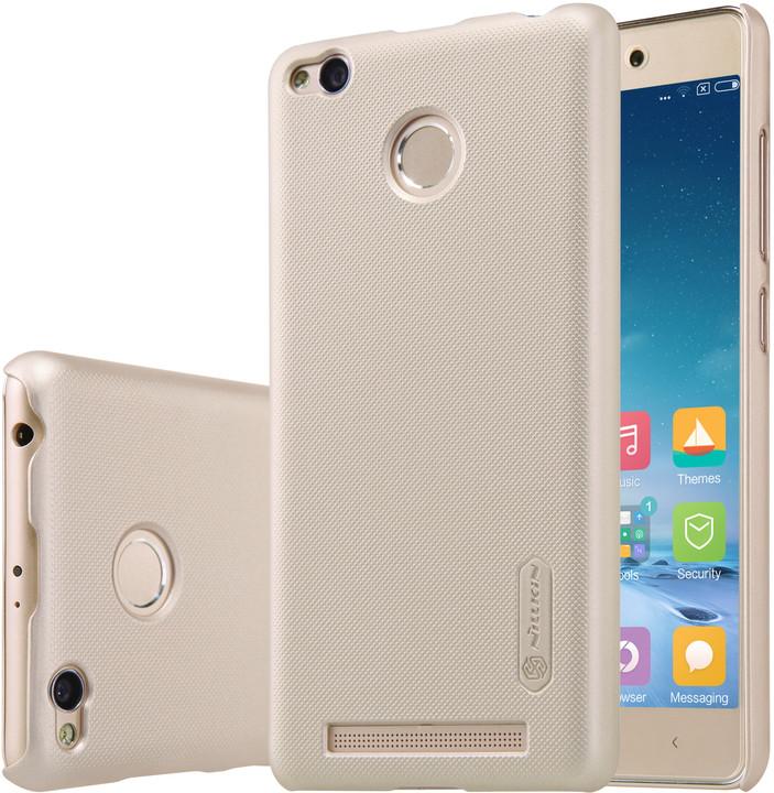 Nillkin Super Frosted Shield pro Xiaomi Redmi 3 Pro, zlatá