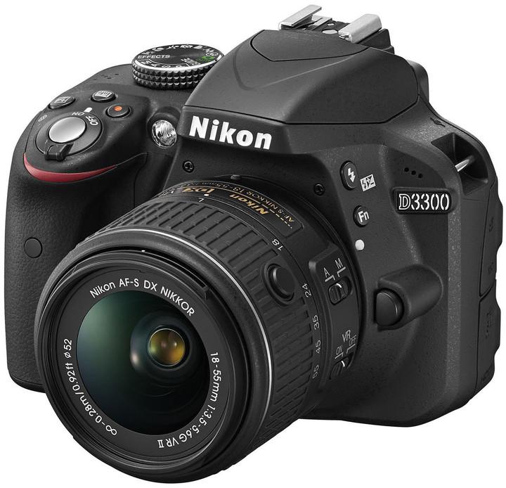Nikon D3300 + 18-55 VR + 55-200 VR II AF-P