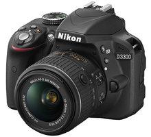 Nikon D3300 + 18-55 VR + 55-200 VR II AF-P - VBA390K009