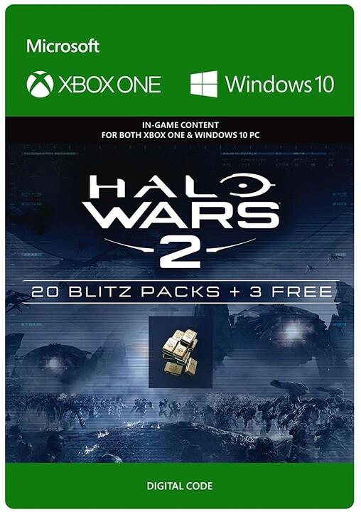 Halo Wars 2: 23 Blitz Packs (Xbox Play Anywhere) - elektronicky