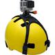 Rollei profesionální držák na helmu pro kamery GoPro a ROLLEI