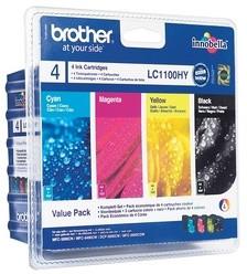 Brother LC-1100HY VALBP, černá+C+M+Y