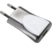 CELLY domácí nabíječka s USB výstupem, 1A, bílá, blister - SCH11UWH