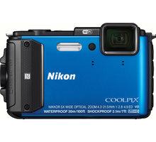 Nikon Coolpix AW130, modrá - VNA841E1