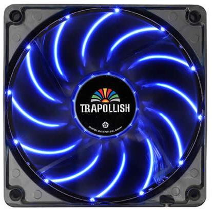 Enermax T.B.Apollish UCTA12N-BL, 120mm LED, modrá