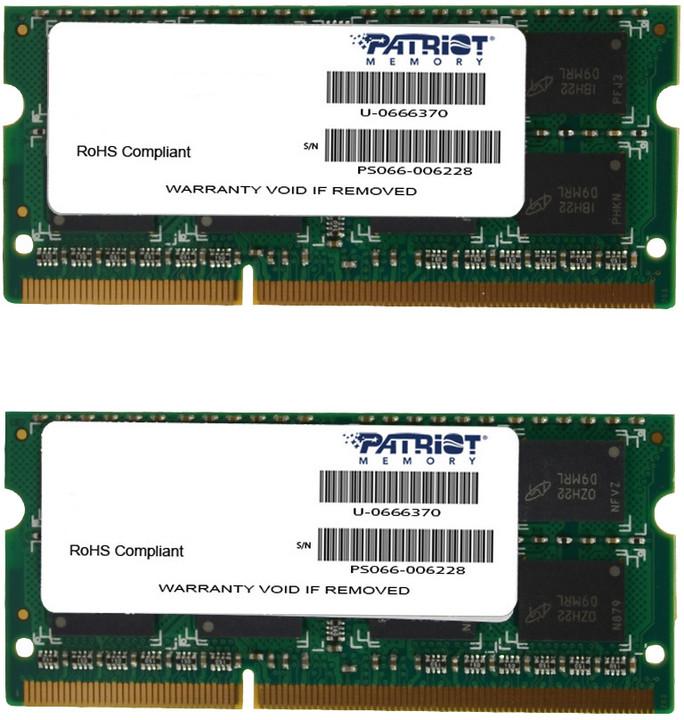 Patriot Signature Line 8GB (2x4GB) DDR3 1333 SODIMM