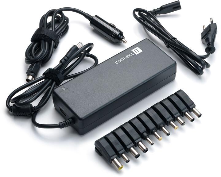CONNECT IT Notebook Power univerzální adaptér 3v1 90 W