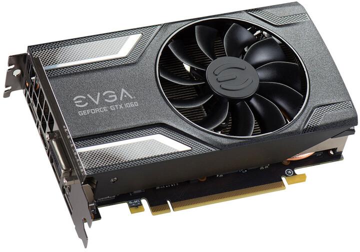 EVGA GeForce GTX 1060 SC GAMING, 6GB GDDR5