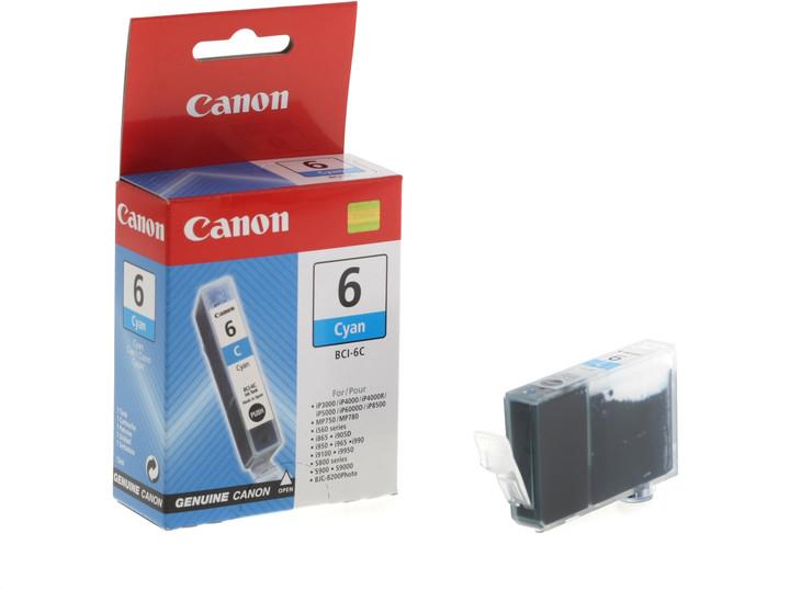 Canon BCI-6C, azurová