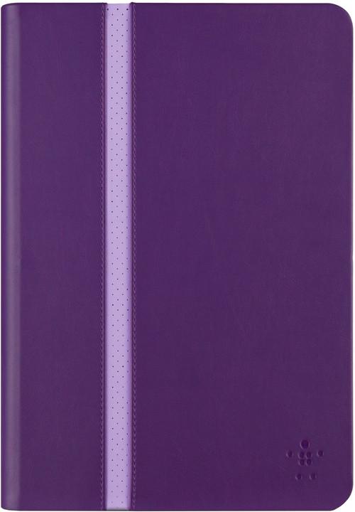 Belkin iPad mini 1/2/3 pouzdro Stripe Cover, fialová