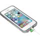 LifeProof Fre pouzdro pro iPhone 6/6s Plus, odolné, bílo-šedá