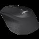 Logitech M330 Silent Plus, černá