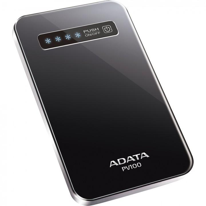 ADATA PV100 PowerBank, 4200mAh, černá