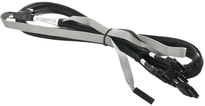 ADAPTEC kabel ACK-I-mSASx4-4SATAx1-SB-0,7m