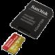 SanDisk Micro SDXC Extreme Plus 64GB 100MB/s A1 UHS-I U3 V30 + SD adaptér