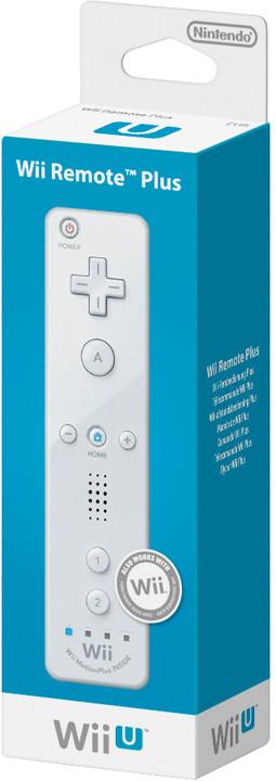 Nintendo Remote Plus, bílá (WiiU)