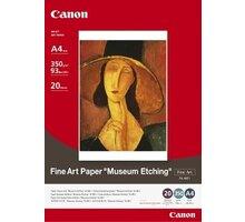 Canon Foto papír Fine Art Museum Etching FA-ME1, A4, 20 ks, 350g/m2, matný - 1262B005