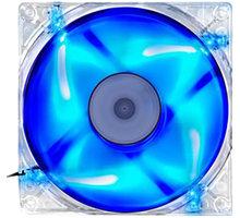 Evolveo 140mm, LED modrý - FAN 14 BLUE