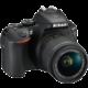 Nikon D5600 + 18-55 VR AF-P, černá