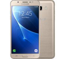 Samsung Galaxy J7 (2016) LTE, zlatá - SM-J710FZDNETL + Zdarma Samsung GP-J710KDCPAAH Clear Cover J7 (v ceně 499,-)