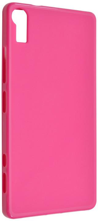 FIXED pouzdro pro Lenovo Vibe Shot, růžová