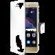 CELLY Wally Pouzdro typu kniha pro Huawei P8/P9 Lite (2017), PU kůže, bílé