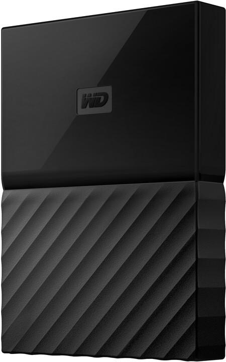 WD My Passport - 3TB, černá
