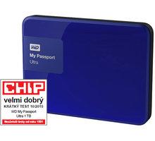 WD My Passport ULTRA - 1TB, modrá - WDBGPU0010BBL-EESN
