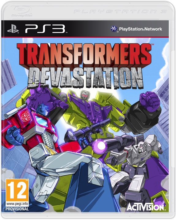 Transformers Devastation - PS3