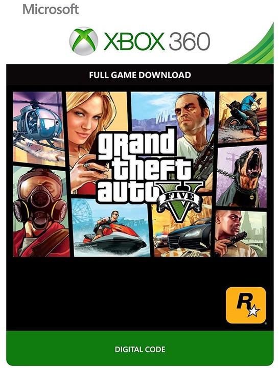 Grand Theft Auto V (Xbox 360) - elektronicky