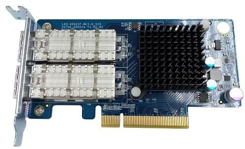 QNAP LAN-40G2SF-MLX - síťová rozšiřující karta sítě 40 GbE se dvěma porty QSFP+