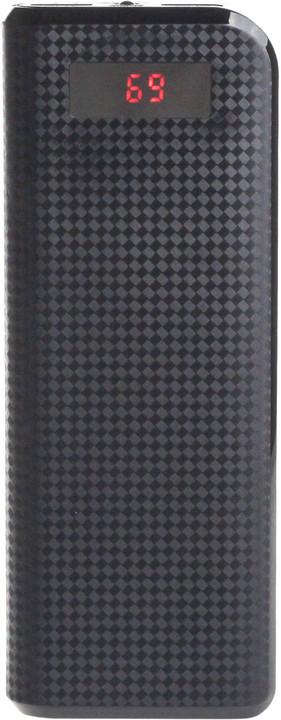 Remax powerbank, 20000 mAh, černá