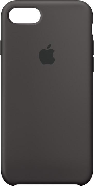 Apple Silikonový kryt na iPhone 7 – kakaově hnědý
