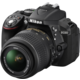 Nikon D5300 + 18-55 VR + 70-300 VR, černá  + Samonafukovací karimatka Vango Trekker Long v ceně 1390 Kč