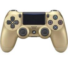 Sony PS4 DualShock 4 v2, zlatý - PS719895251