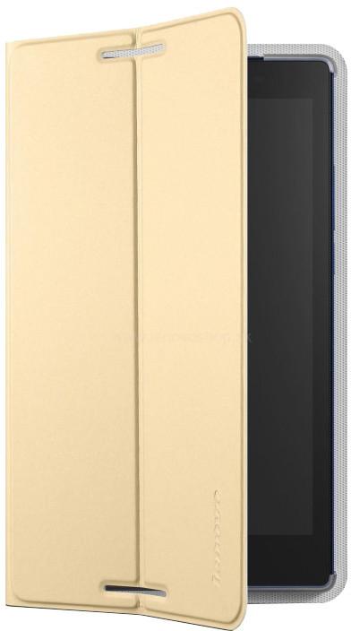 Lenovo pouzdro a fólie pro Idea Tab 2 A8-50, zlatá